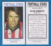 Stoke City Alan Suddick